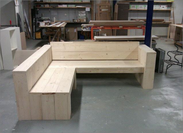 Wonderbaar Steigerhout meubelen op maat - Deca Designs Maatwerkmeubelen DZ-99