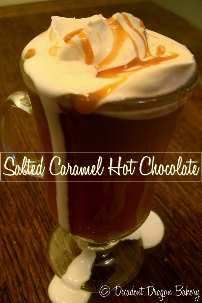 Salted Caramel Drinking Chocolate