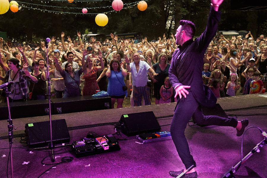 Delhi 2 Dublin rocks the Filberg Festival  sold-out audience