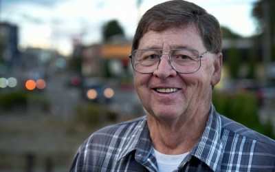 Harold Long joins the race for Courtenay mayor