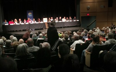 City Council candidates debate taxes, amalgamation
