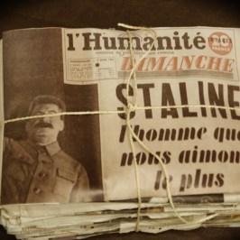 Une de l'Humanité en 1949.