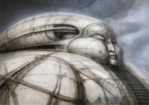 Le décor imaginé par Giger pour le palais du Baron Harkonen dans Dune de Jodorowsky