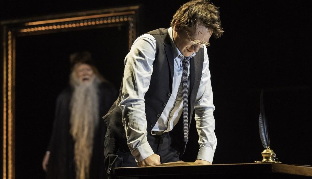 Harry et le portrait de Dumbledore