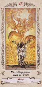 Arcane XVII, la Magicienne sous le voile