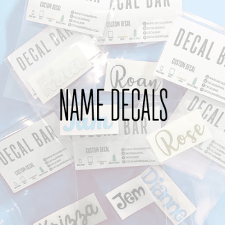 Name Decals