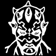 darth maul decal