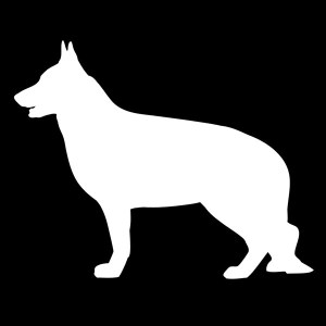 german shepard decal