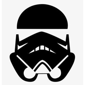 storm trooper iron-on