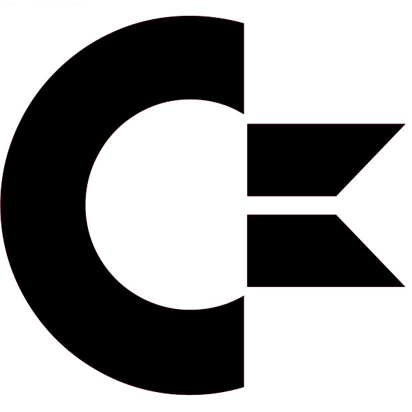 commodore logo iron-on