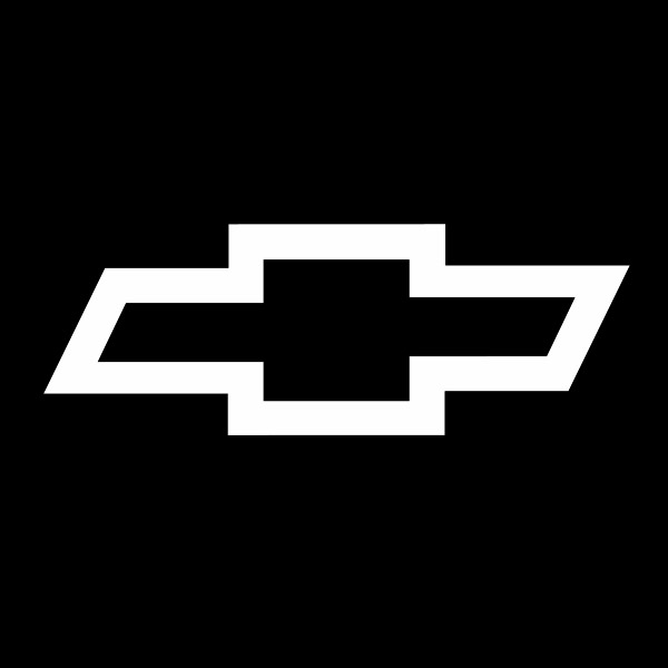 chevy bowtie outline 3 decal
