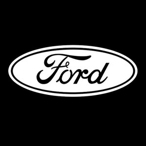 ford logo solid decal