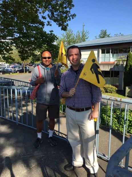 Prem and Vladimir in Kirkland, WA