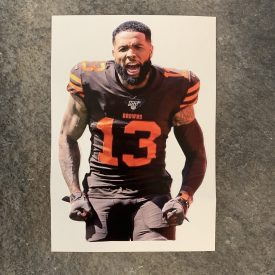 NEW!  OBJ Fathead style decal