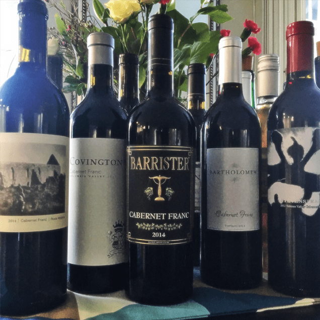 Washington Cabernet Franc line-up