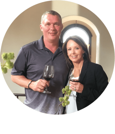 Ali and Jerod Boyle of Alexandria Nicole Cellars