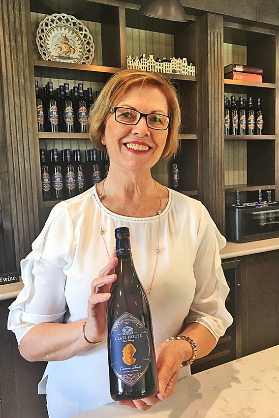 Ingrid de Jong of Glass House Estate Winery