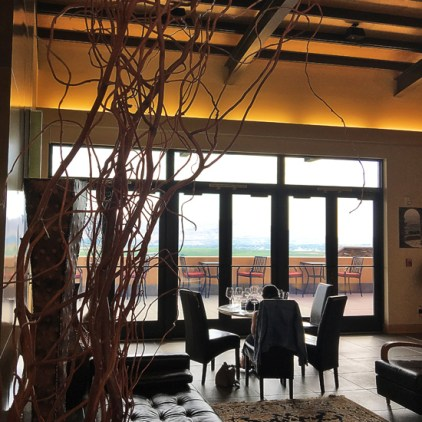 Col Solare Winery tasting room