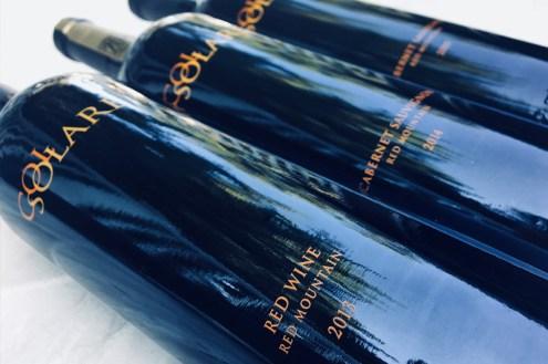 Col Solare Winery Cabernet Sauvignon vertical