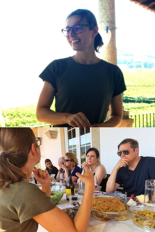 Luisa Borges, winemaker of Vieira de Sousa