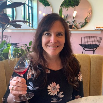 Sandi Everingham at Rico Bambino Winery
