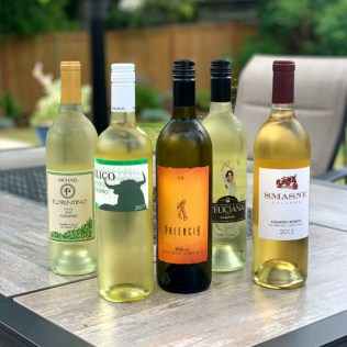 Decanted Washington Albariño lineup