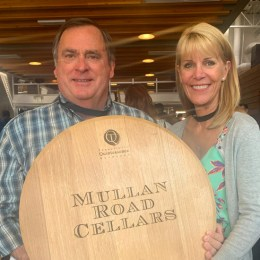 Dennis Cakebread, owner of Mullan road Cellars