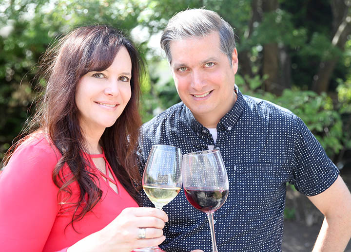 Dave Adams, Sandi Everingham of Decanted Podcast
