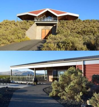 Kiona Vineyards tasting room, Red Mountain AVA Washington