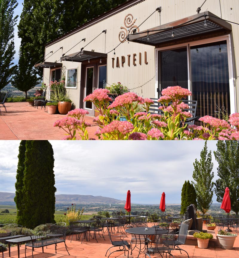 Tapteil Vineyards tasting room, Red Mountain