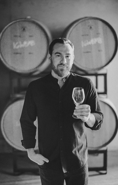 Andrew Latta, winemaker at Latta Wines