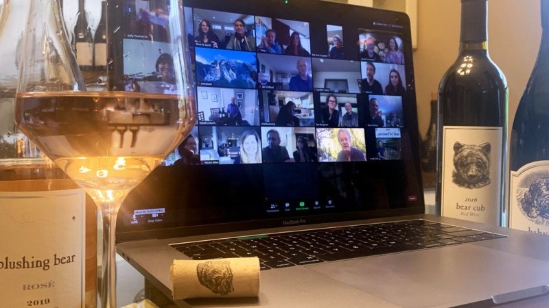 Decanted Podcast Virtual Zoom wine tasting