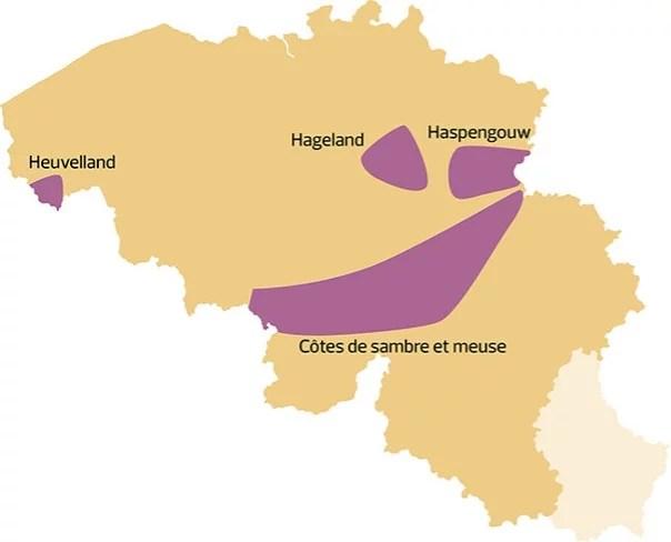 denominaciones de origen de vino belgas