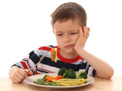 Вегетарианство при децата?