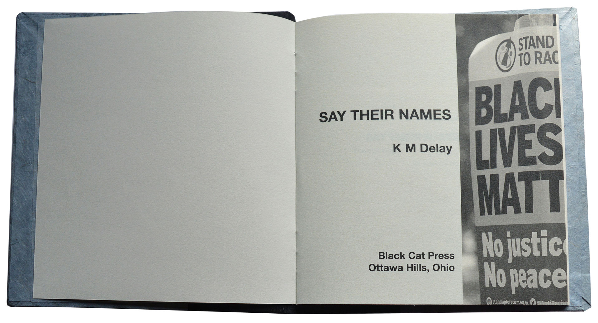 """""""Say Their Names"""" by Katie Delay"""