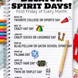 Decatur Spirit Days
