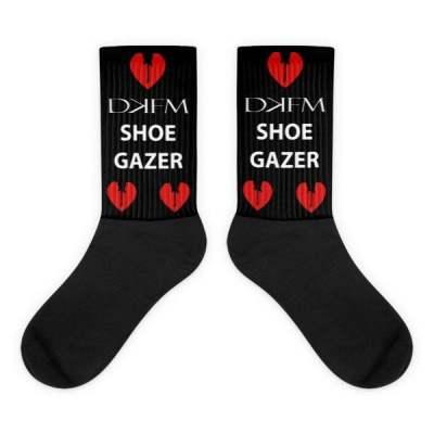 DKFM Shoegazer Socks (Black Foot)