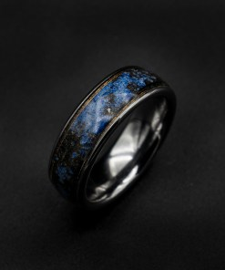 Lapis Lazuli with 18ct Gold Wire and Meteorite Dust | Decazi