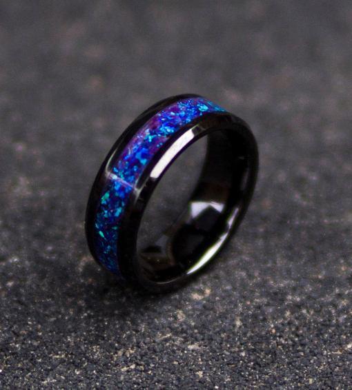 Purple glowstone ring