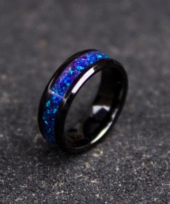 Purple glowstone ring