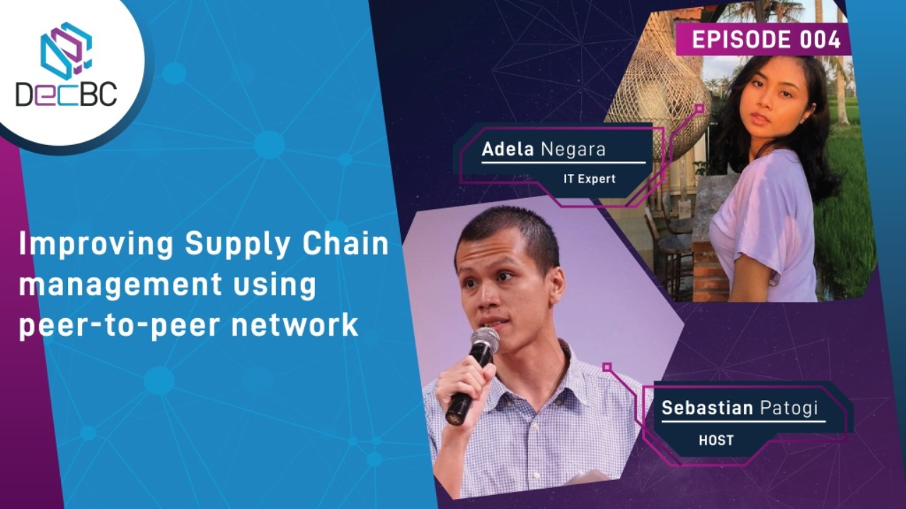 Improving supply chain management using peer-to-peer network