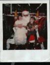 Santa and girls