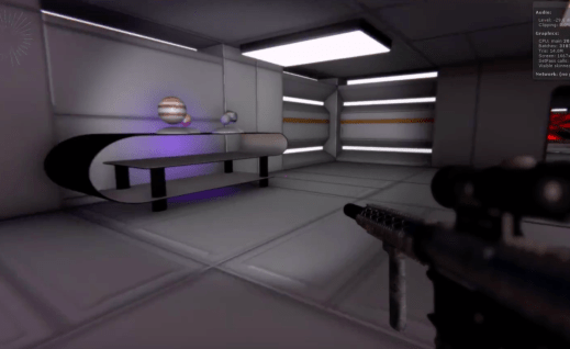 FPS game. Prototype