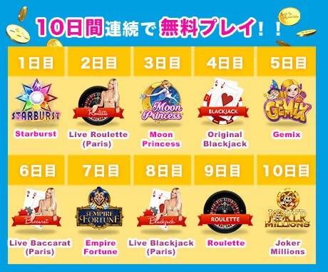 2018 03 23 182530 - ベラジョンカジノの入金ボーナスは、入金毎に3回のボーナス付与!とってもお得!最高$1,000+10日間無料プレイ付!