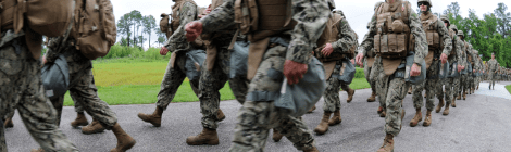 U.S. Navy Seabees assigned to Naval Mobile Construction Battalion 11