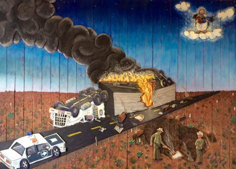"""Truckload of Art,"" Camp Bosworth"