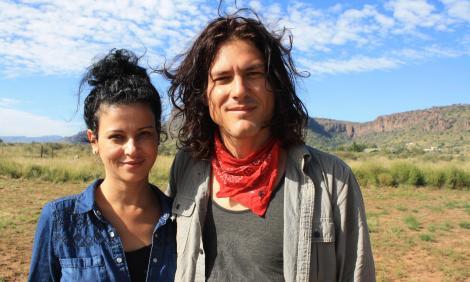 Jussara Oliveira and Geronimo Son