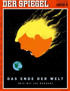 Der Spiegel Post Election Coverage: End of the Word (As We Know It)