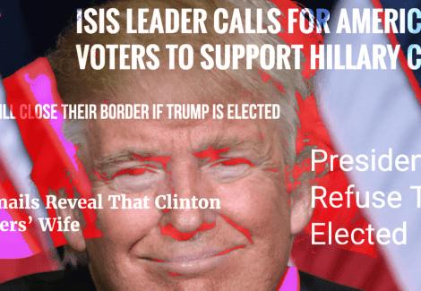 fake news and donald trump