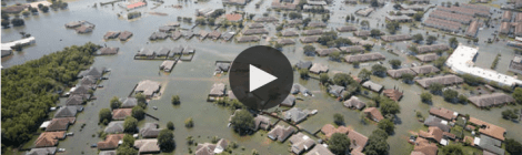 Flooded Communties after Hurricane Harvey